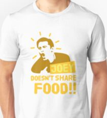 Joey doesn't share food! (Yellow) Unisex T-Shirt