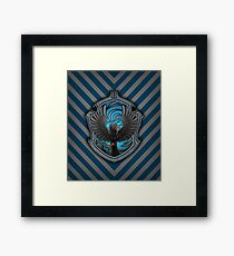 The Witty Raven Framed Print