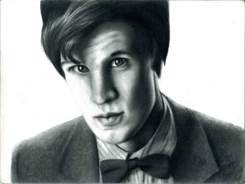 The Eleventh Doctor by ElizabethBuller