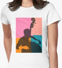 Jazz Acoustic Bass Player T-Shirt