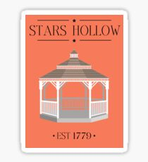 Gilmore Girls - Stars Hollow! Sticker