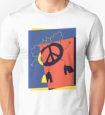Pop Art Peace Person T-Shirt