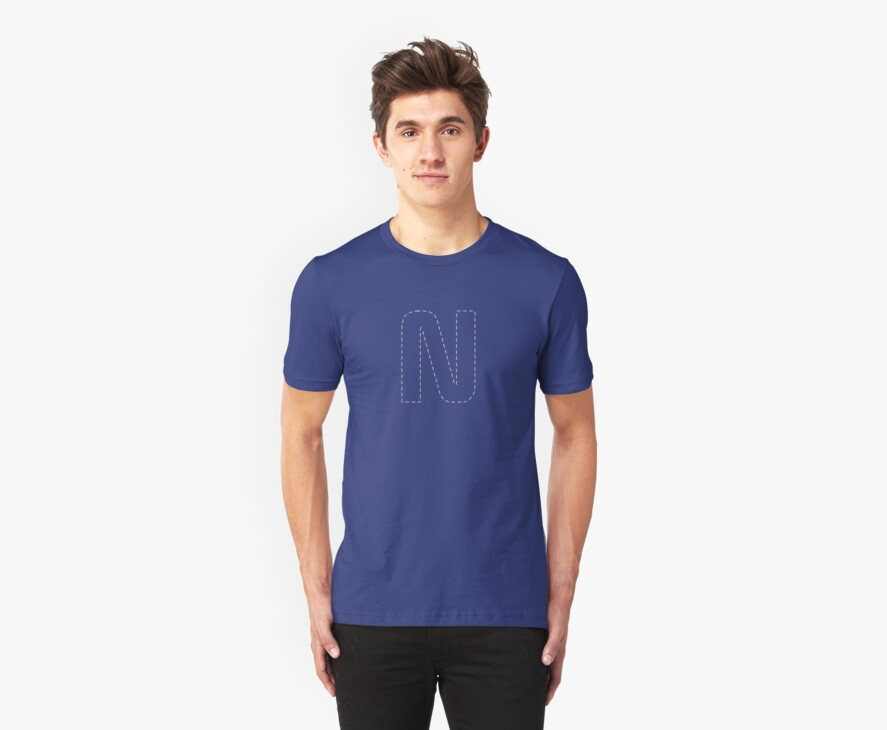 Letter N by SmartTees
