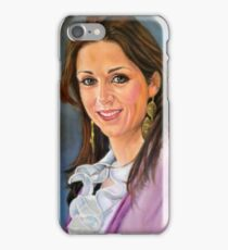 portrait of Katia Guerreiro iPhone Case/Skin