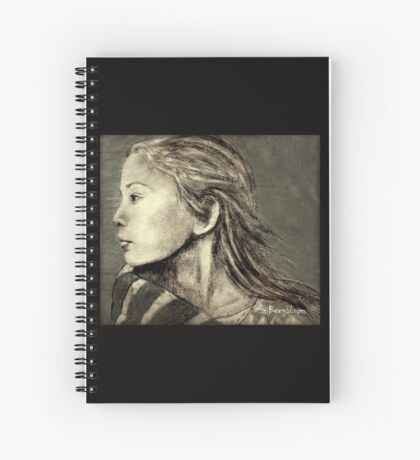 Mariah Drawing Spiral Notebook
