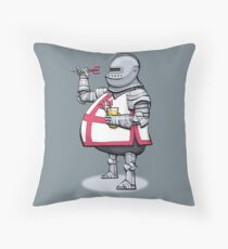 Darts Knight Throw Pillow