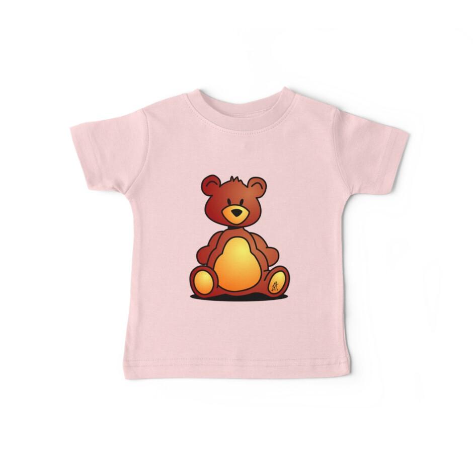 Cuddly Teddy Bear by cardvibes