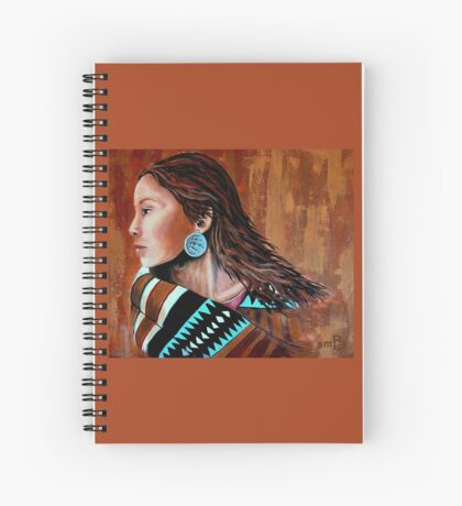 Mariah, Wrapped In Tradition #12 Spiral Notebook