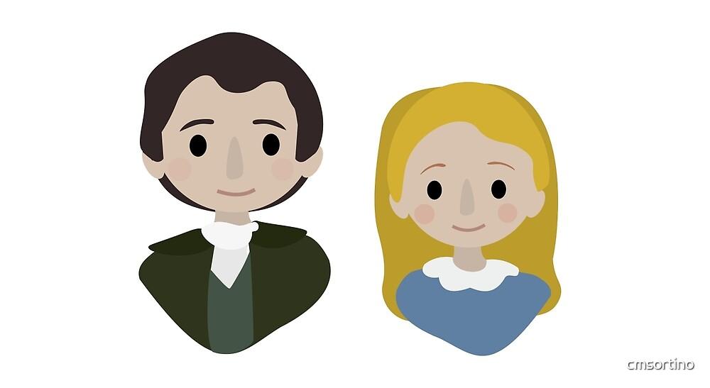 «Valjean y Cosette» de cmsortino