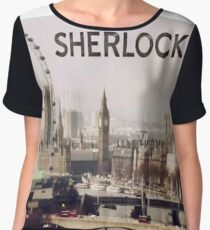 Sherlock & London Women's Chiffon Top