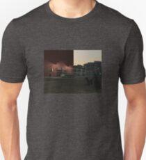 New York street at daybreak Unisex T-Shirt