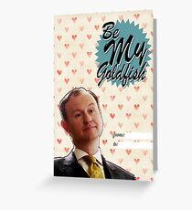 Mycroft Valentine's Day Card Greeting Card