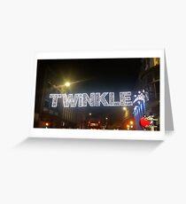Christmas in Brighton - Twinkle Lights Greeting Card