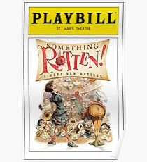 Something Rotten Playbill Poster