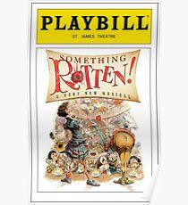 Something Rotten Playbill Poster