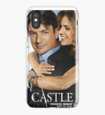 Castle and Beckett iPhone Case