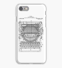 Patent - Typewriter iPhone Case/Skin