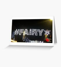Christmas in Brighton - Fairy Lights Greeting Card