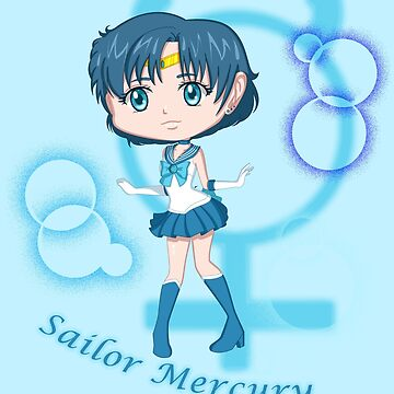 Chibi Chibi Sailor Mercury by Lunaria91