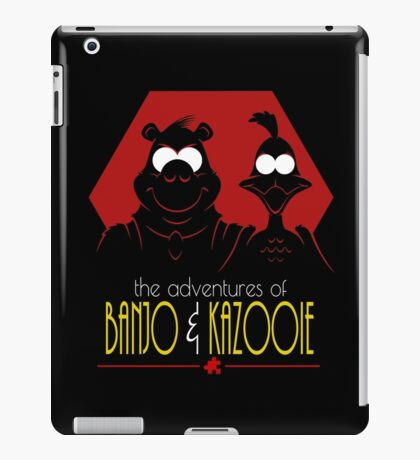 The Adventures of Banjo & Kazooie iPad Case/Skin