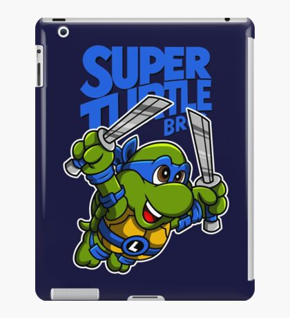Super Turtle Bros - Leo iPad Case/Skin