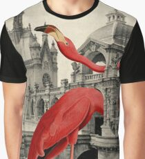 NUMBER 17 (FLAMINGO) Graphic T-Shirt