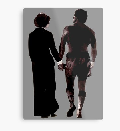 Rocky and Adrian Metal Print