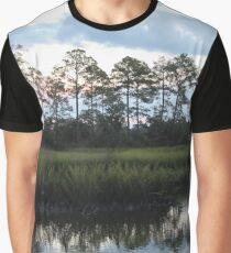 Lined Up Graphic T-Shirt