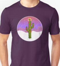 Christmas Cactus Slim Fit T-Shirt