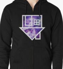 The Neighbourhood Logo (Galaxy Print) Zipped Hoodie
