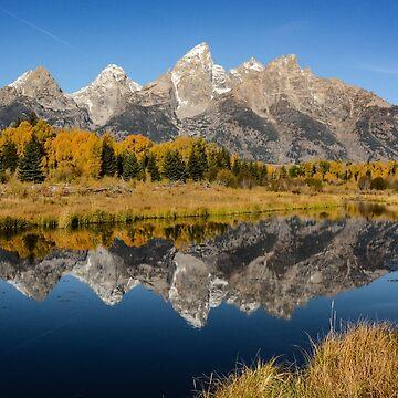 Grand Teton by chaneyforkriver