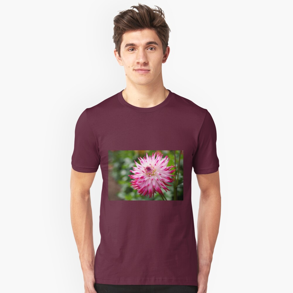 Pretty Dahlia Flower Unisex T-Shirt