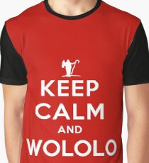 Keep calm and WOLOLO Graphic T-Shirt