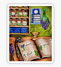 The Herbalist's Study Sticker