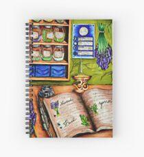 The Herbalist's Study Spiral Notebook