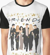 FRIENDS tv show cast  Graphic T-Shirt