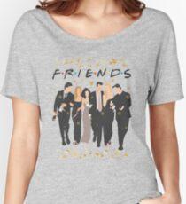 FRIENDS tv show cast  Women's Relaxed Fit T-Shirt