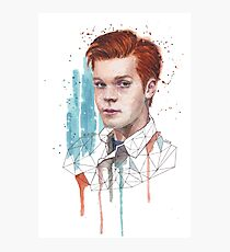 Shameless: Ian Gallagher Photographic Print