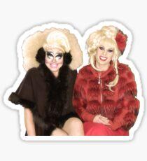Trixie Mattel & Katya Zamolodchikova  Sticker