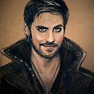 Captain Hook by Sarah  Mac Illustration