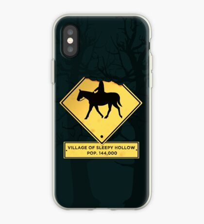 Headless Horseman Sign iPhone Case