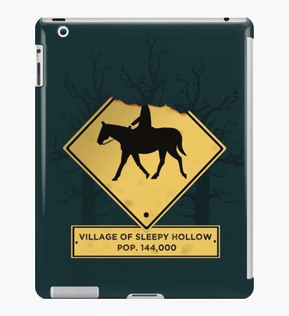 Headless Horseman Sign iPad Case/Skin