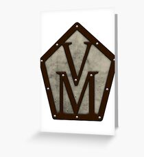 Vox Machina Crest (Critical Role Fan Design) Greeting Card