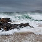 Bagh Steinigidh and Taransay. Scarista. Isle of Harris. Scotland. by PhotosEcosse
