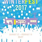 EST/LA Winterfest 2017 Poster Art by ESTLA