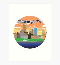 Pittsburgh City Art Print