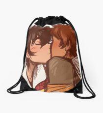 Kisses Drawstring Bag