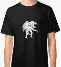 Evil Bird Drawing Classic T-Shirt