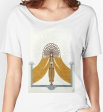 "Art Deco Costume by Erte ""Cafe Foujita"" Women's Relaxed Fit T-Shirt"