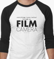 """Everything looks better through my film camera"" T-Shirt"